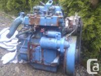 2 cylinder diesel excellent little motor in good shape