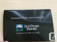 I have a two day pass to Sun Peaks for a university