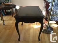 2 tables Deilcraft de style provincial français en