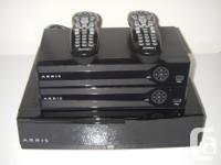 Shaw cable equipment. Can run 2 tv and also