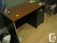 this lovely 2 drawer desk is in great condition. make
