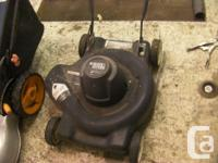the little black and decker electric 25$ works electric