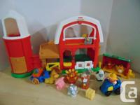 Fisher Price Little People Play Family Real Sounds Farm