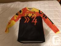 I've got these two youth mountain bike jerseys for