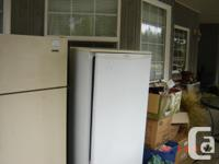 White Danby Fridge, 5'x2' asking $350 Older Frigidaire