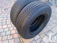YOU ARE PURCHASING A SET OF 2 GT RADIAL SAVERO HT2