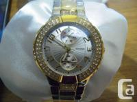 Two watches for sale.  One is a ladies rose gold tone