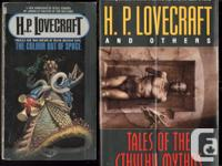 "2 H.P Lovecraft publications: paperback ""The Colour Out"