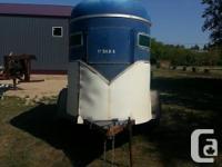 I am selling my 2 horse trailer. New floor, new custom