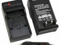 2 in 1 Wall & Car Charger for Canon LP-E5 Battery