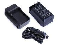 2 in 1 (Wall & Car) Charger for Canon Camcorder BP-727