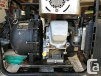 2 inch pacer pump w/quick connect. 5 hp briggs and