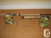 $950 for 2 Gold Islander MR3 mooching reels. One has