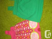 2 - Children's Area Floral Summer Baby Doll Tops -