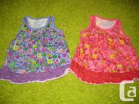 2 - Kid's Location Floral Tank top Covers in Pink and