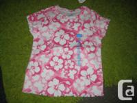 2 - Kid's Location Hibiscus Blossom t-shirts - 3T Girls