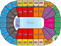 2 tickets in Section 323 Row 6 Seats 107 & 108 for