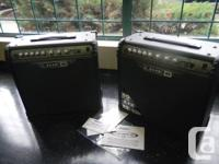 2 BRAND NEW, NEVER USED Line 6 30 watt amps. Bought at