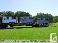 Williams Trailers Center just recieved 2 new loads of