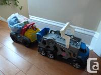 Mega Bloks Lil' Dump Truck Your child can haul