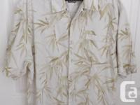 - 100% silk Jamaican Jaxx Camp shirt. Excellent