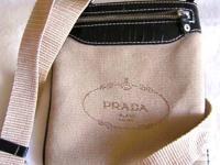 Up for sell 2 Prada messenger cross body bags. Beige