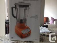 Kitchen Aid 'Intelli-Speed' Tangerine Coloured, 56oz.,