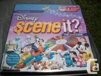 Disney scene DVD game disney pictunary  DVD game $20