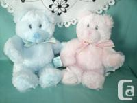 very nice Gift for Baby Shower ( 2 new Teddy Bears )