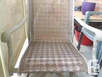 Selling - 2 Patio Captain Chair - 1 Chair is in