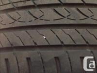2 P215/45R17 Raptis WR1 all season tires. Tires in