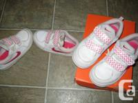 2 pairs of Nike Toddler Girls Running shoes 10C
