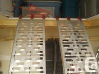 USED 1 TIME - BRAND NEW CONDITION THE RAMP SECURITY