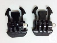 2 pieces Quick-Release Buckle Mount Base For Gopro 2 3