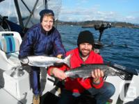 "Fish in Sooke aboard our 21ft Campion ""Fishing"