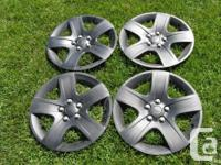 "2 sets of 17"" wheel covers off a 2007 Pontiac G6. One"