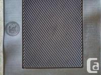 2 separate sets of Winter car Mats 1 complete front and