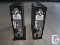 2 Shaw converters for sale. Come with all the original