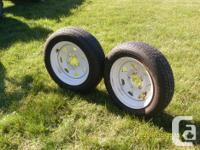 Bridgestone SF408, P155/70R13, rims 5 holes, all
