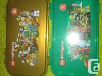 2 LEGO Minifigure Storage space Situations-- Series 10