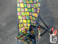 we have 2 strollers in good condition to sell .. we