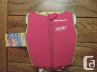 Two for 1 Girls swim/floatation suits.   Both size