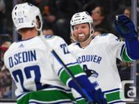 For sale: 2 tickets to the Vancouver Canucks vs. the