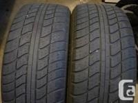 2 tires 195 55 15   65% to 70%  $80  Call.
