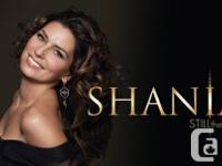 Shania Twain Tonight, 7: 30 pm at Scotiabank
