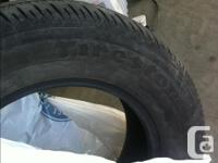 $ 30 for both tires came off my car from the front of