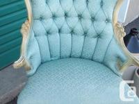These chairs are Victorian and in Excellent shape! They