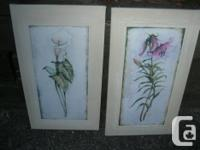 """2 Wall surface Decoration Image. Size: 11"""" X 191/2""""."""
