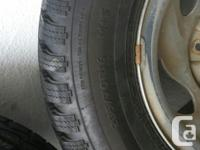 2 - Winter tires sized R16 - 235/70 M+S Off of 1997