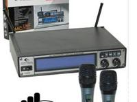 2 brand new high quality Wireless mics groove factory.